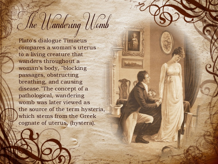The wandering womb | history | Pinterest