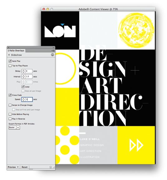 how to make a digital portfolio for graphic design
