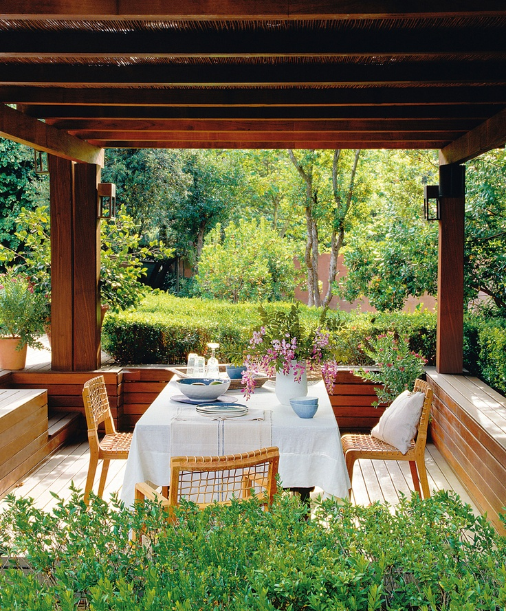 modern pergola for the home pinterest. Black Bedroom Furniture Sets. Home Design Ideas