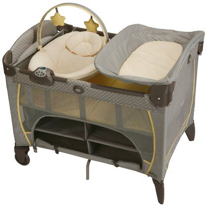 Graco Pack 39 N Play Playard With Newborn Napper Peyton