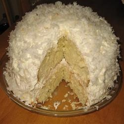 Coconut Cream Cake I Allrecipes.com | cake | Pinterest