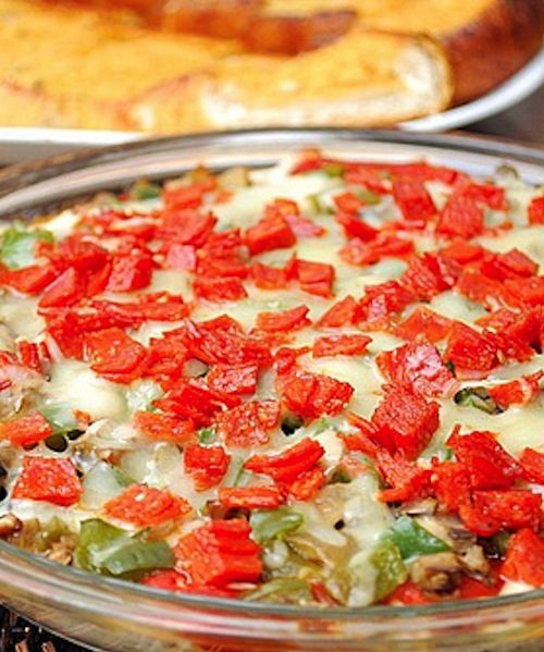 Hot Pizza Dip | Dips/Salsa/Sauce | Pinterest