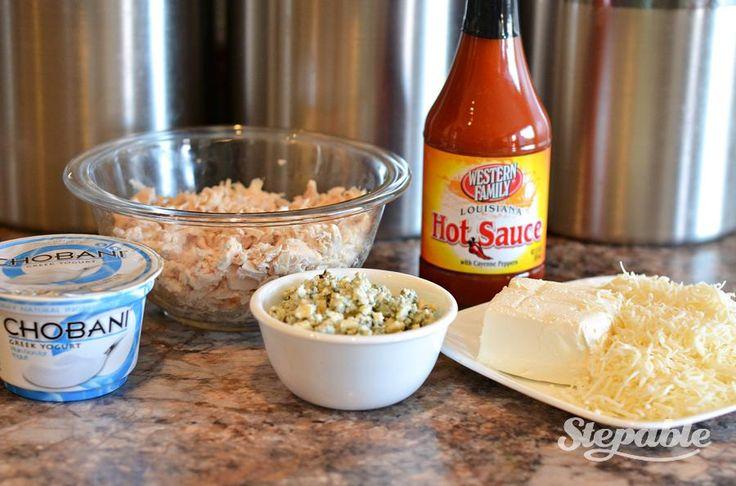Skinny Buffalo Chicken Dip | Recipe