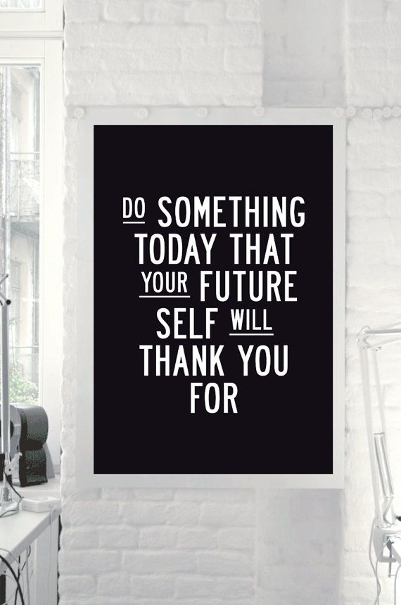 Inspirational Quote Motivational Print Do by TheMotivatedType, $9.00