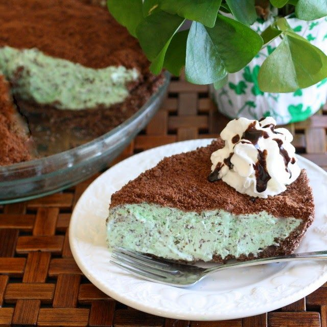 Frozen Grasshopper Pie | 1. Pins I Love (2014) | Pinterest