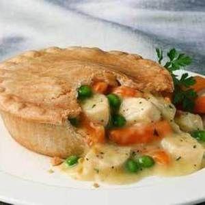 Creamy Chicken Pot Pie | Entree To Flavor | Pinterest