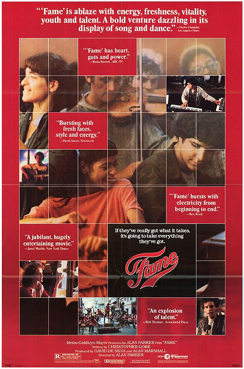 Fame (1980)   Movies   Pinterest