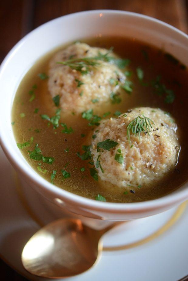 Matzo Ball Soup | Soup | Pinterest