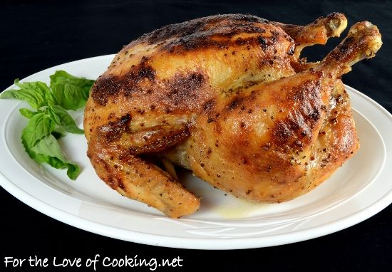 MAPLE-MUSTARD GLAZED ROASTED CHICKEN - http://www.pingirls.com/maple ...