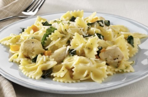 Farfalle with Chicken & Spinach | Recipes I've Tried ...