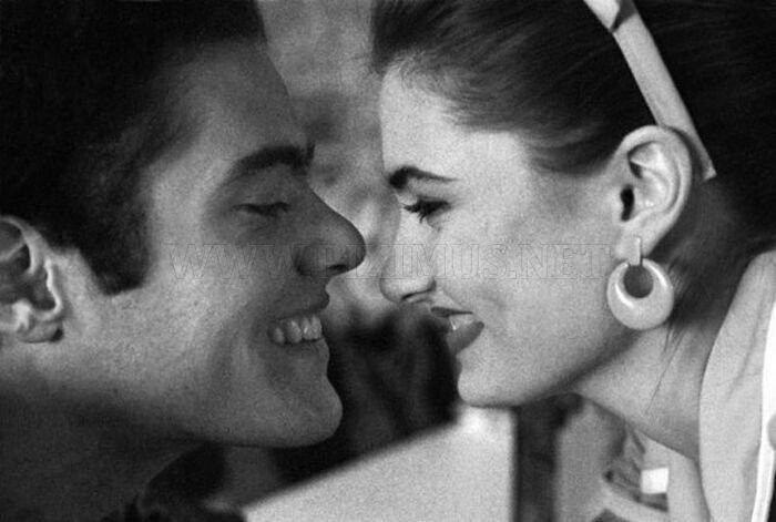 Bobby Briggs and Shelly Johnson. Richard Beymer's photos. Twin Peaks