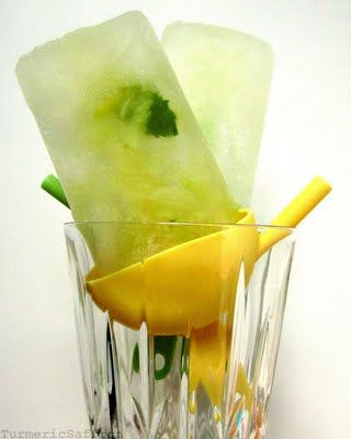 pops mint caipirinha ice pops recipes dishmaps mint caipirinha ice