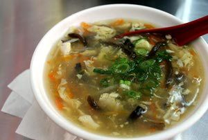 Thai Hot and Sour Soup Recipe With Egg | Food | Pinterest