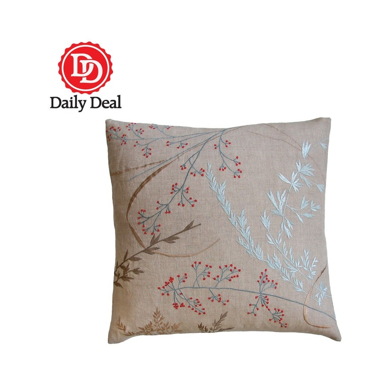Willow Toss Pillow - Daily Deal  $34 What a beautiful daily deal!
