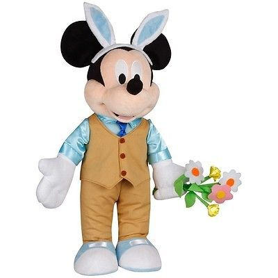 Mickey mouse plush doll door greeter disney spring or easter doll