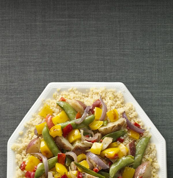 Garden Vegetables With Lemon-Scented Quinoa by Green Giant