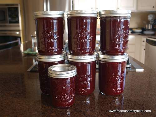 ... make it the week of. ...MKL... Homemade Jellied Spiced Cranberry Sauce