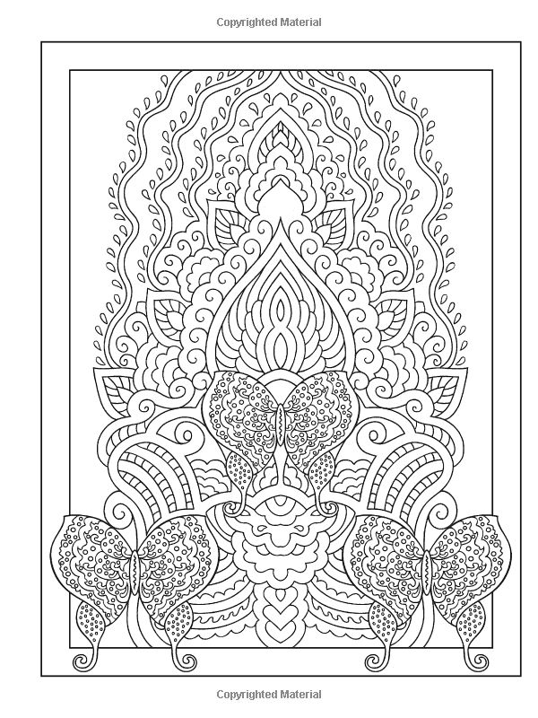 pin by linda sangiorgio on crafty coloring pages pinterest - Mehndi Coloring Pages