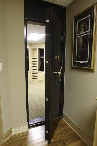 A Safe Room Gun Vault For The Home Pinterest