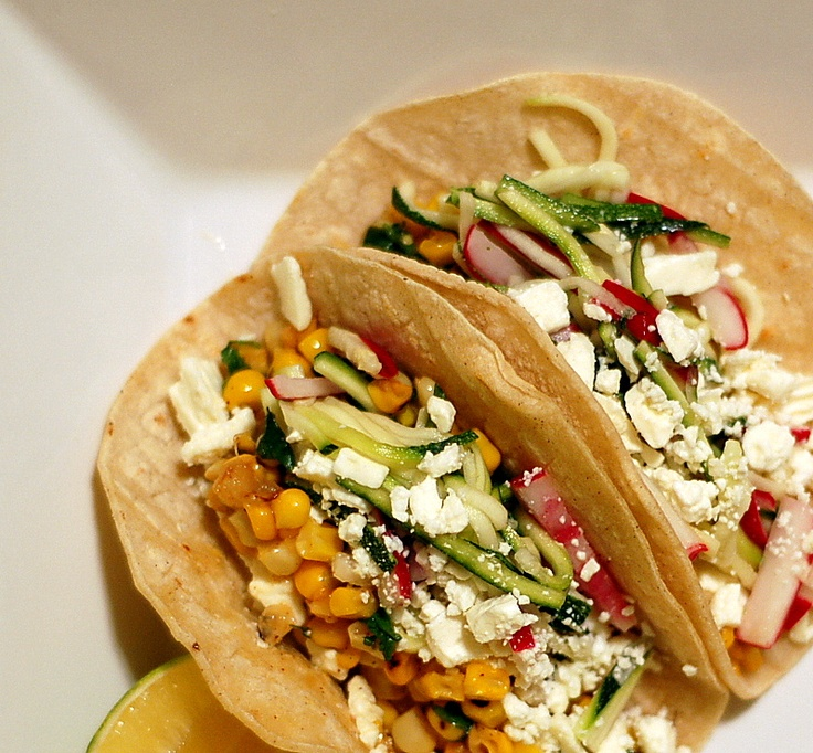 The Grains of Paradise: Charred Corn Tacos with Slaw