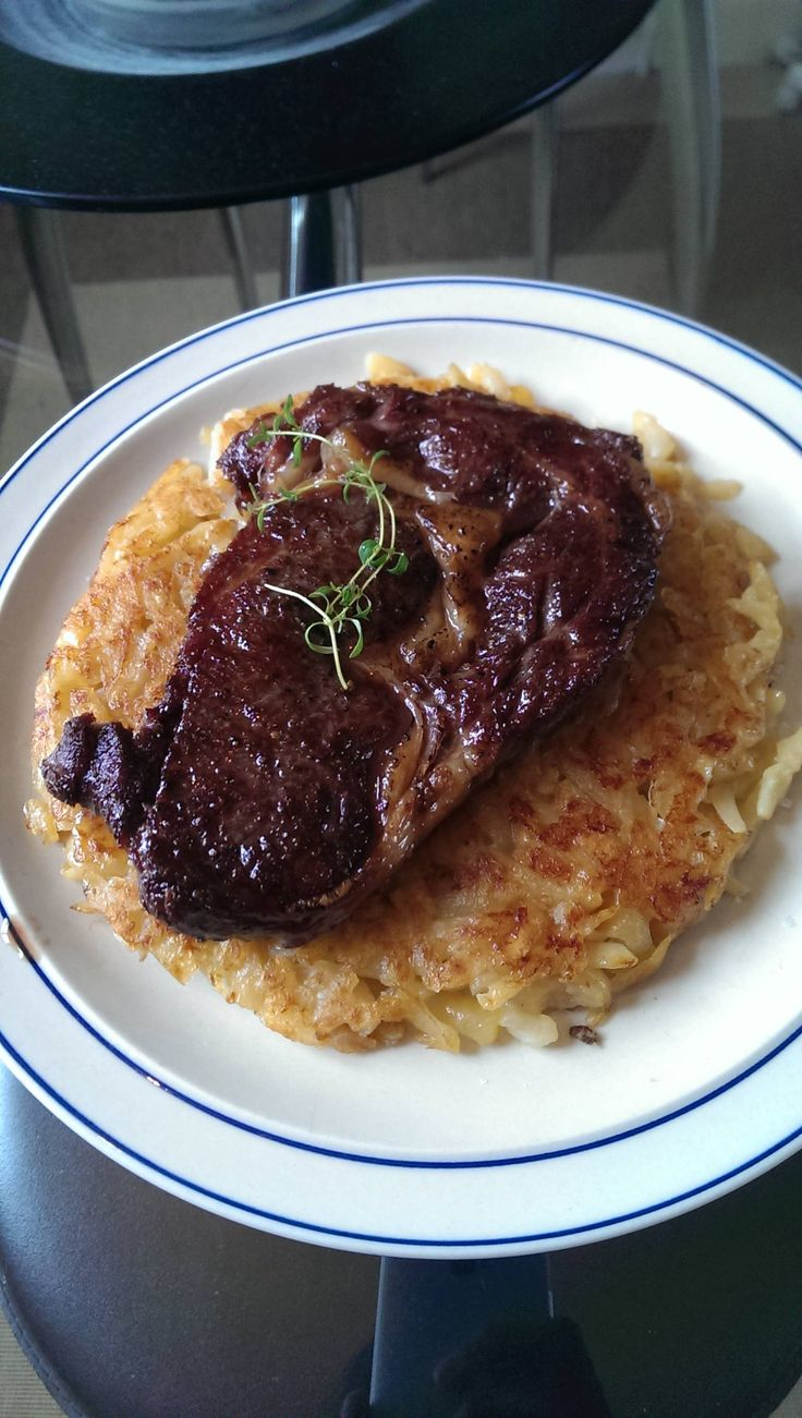 Steak and hash browns | Beef | Pinterest