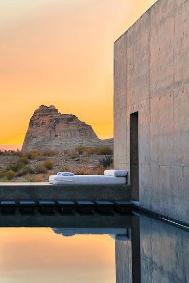 Amangiri suite, Utah. by Wendell Burnette Architects.