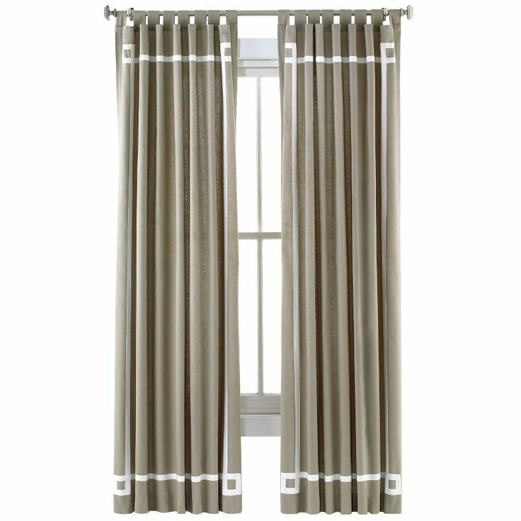jcpenney - Happy Chic by Jonathan Adler Lola Canvas Curtain Panel ...