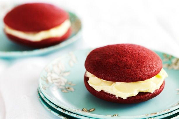 Rate 5! Red velvet whoopie pies - I have just made these and they are ...