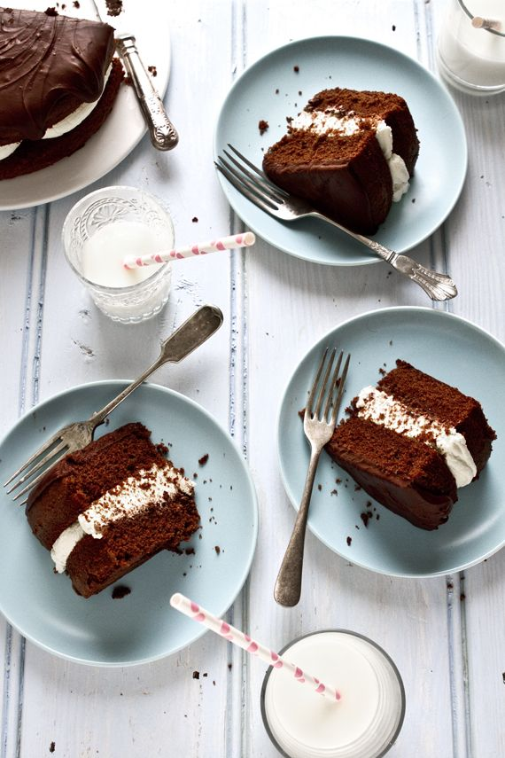 classic! chocolate cake