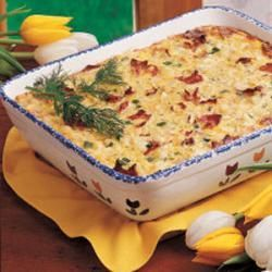 Sunday Brunch Casserole Recipe | Mornin, Sunshine! | Pinterest