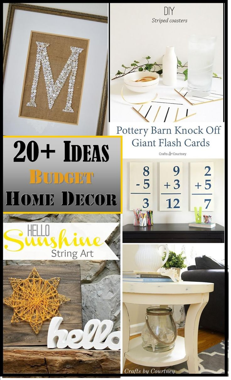 Decorating On A Budget Ideas Plus The Creative Exchange Link Party