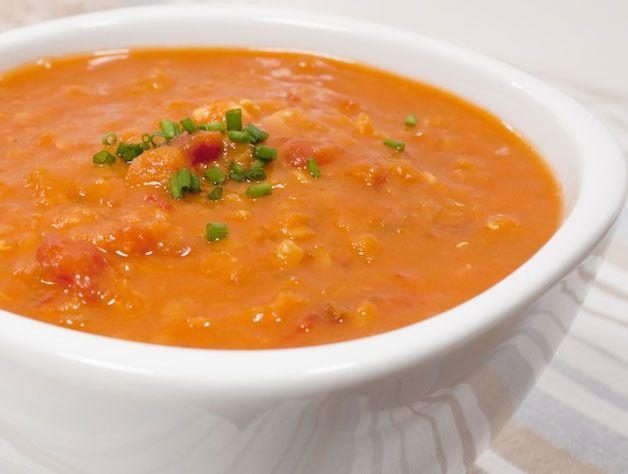 Curried Lentil Soup | Noms & Nips | Pinterest