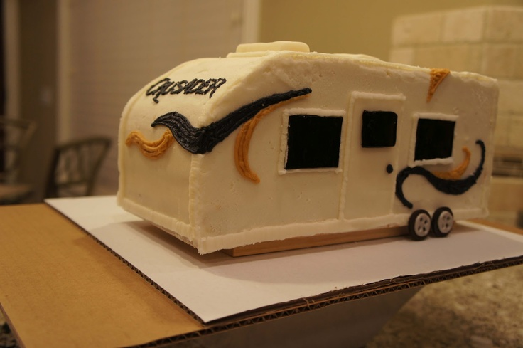 New RV Cake  Novelty Cakes  Pinterest