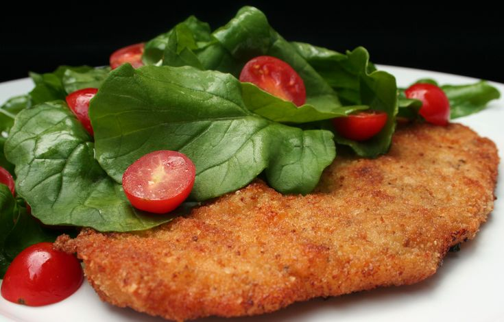 ... to-make Turkey Cutlet Milanese with Arugula and Tomato Salad instead