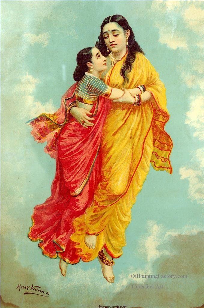 By: Raja Ravi Varma .