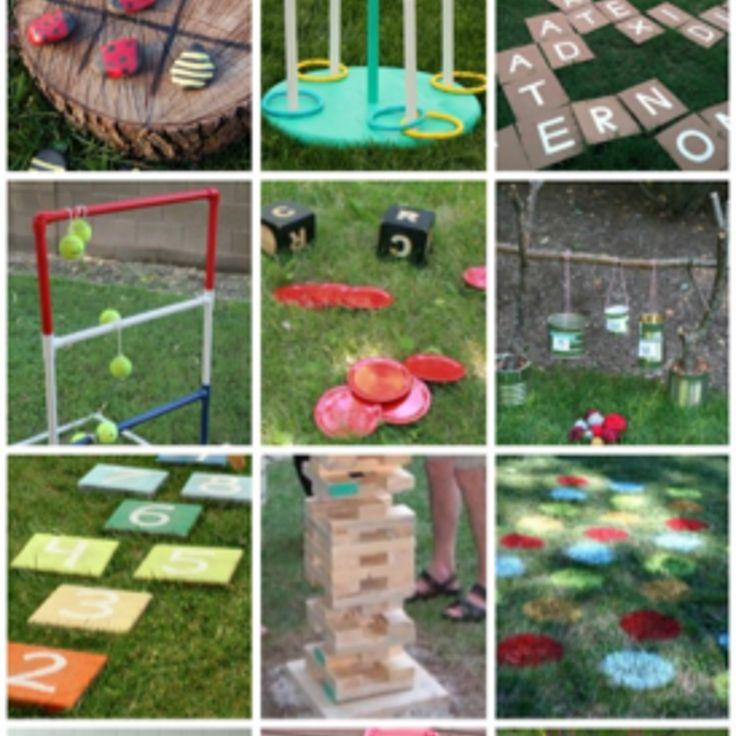 Diy outdoor games perfect for backyard fun