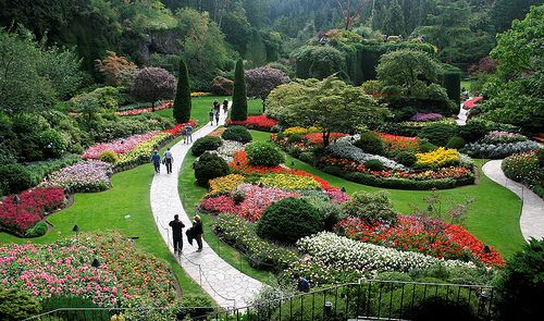Pin by linda ward on walking hiking biking paths - Best time to visit butchart gardens ...