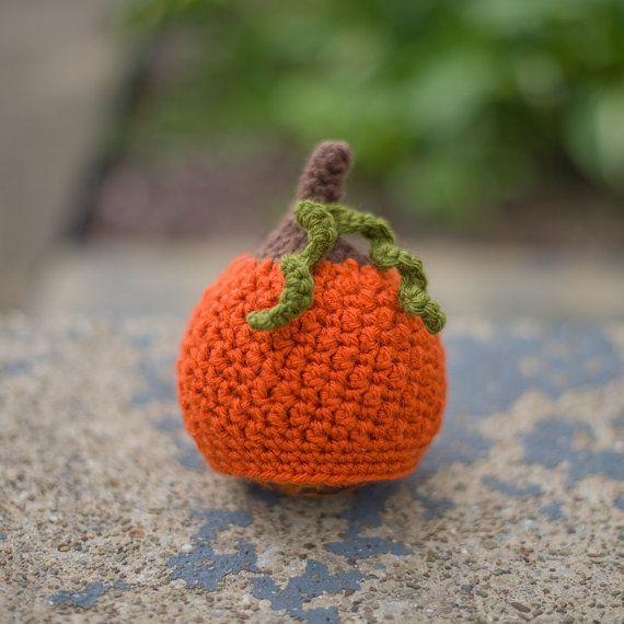 ON SALE-- Newborn Crochet Knit Pumpkin Hat, Photography Prop, Newborn ...