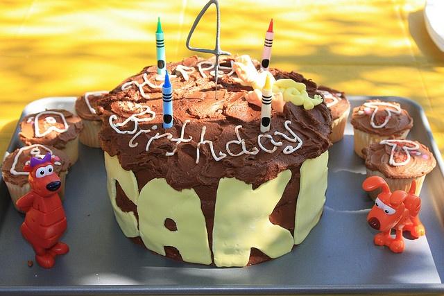 word world birthday cake