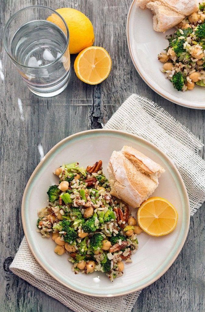 Crunchy Mediterranean Grain Salad | I'm A Cook | Pinterest