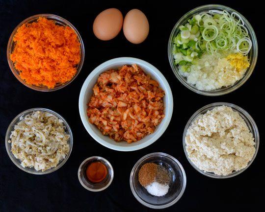 Tofu Kimchi Dumplings (Korean Mandu) | Recipe