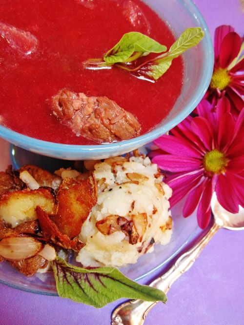 Smashed Potatoes With Gouda And Horseradish Recipes — Dishmaps
