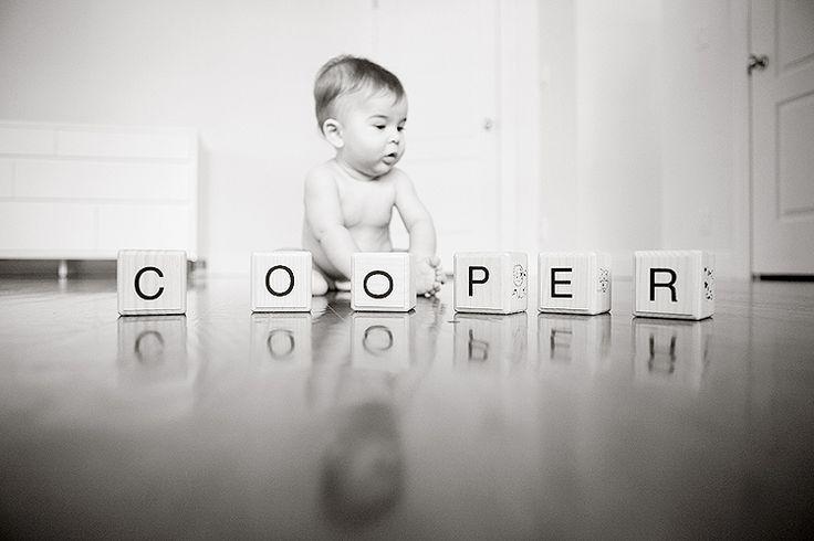 amazing pic of baby + name