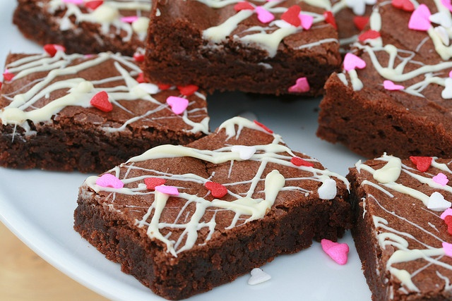 valentine's day brownies delivery