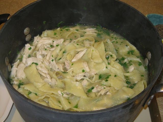 Homemade Chicken and Noodles | NOM NOM | Pinterest