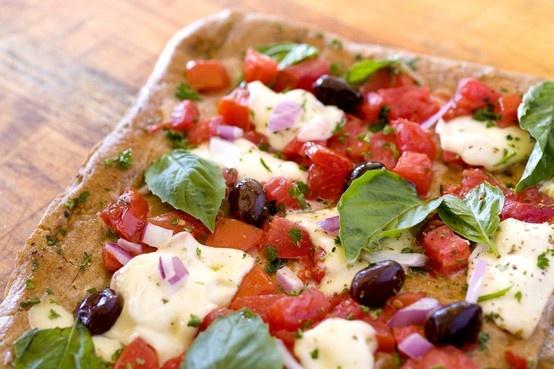 Caprese Pizza:Tangy plum tomato sauce, the finest buffalo mozzarella ...