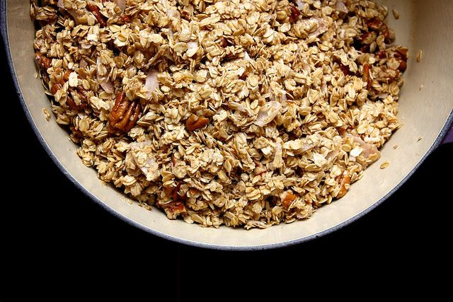 maple pecan granola by joy the baker, via Flickr