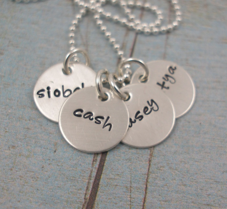 Metal Stamping Necklace Idea