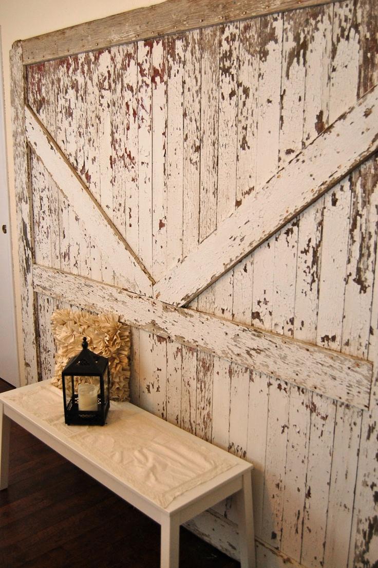 Old barn doors pinterest home design ideas for Door design ideas pinterest