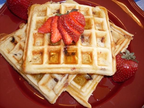 brown sugar bacon waffles | Food | Pinterest